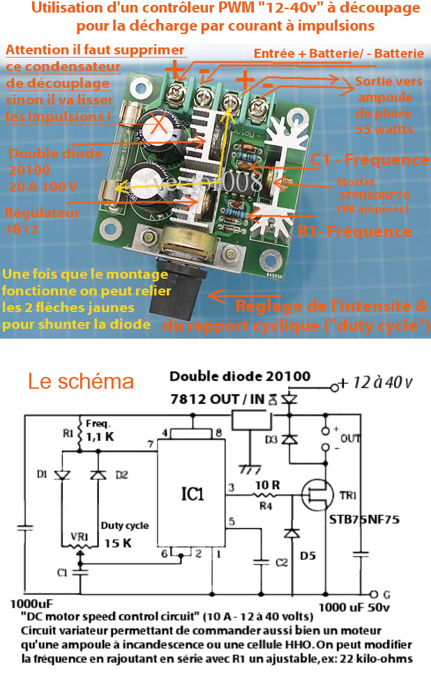 Dechargeur_Batterie_Decoupage_NE555